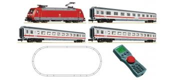 Train électrique :  FLEISCHMANN FL931403 - Coffret débutant digital BR 101 avec train InterCity, DB AG