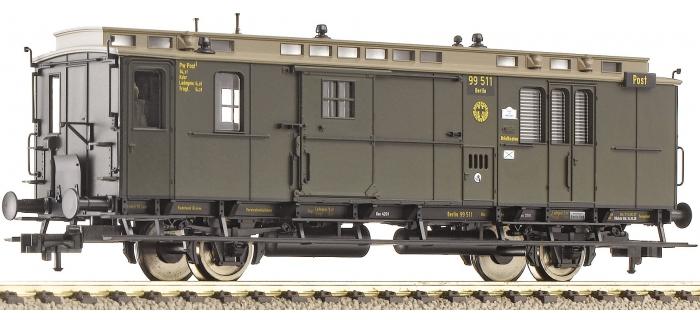 fleischmann 506011 Fourgon à bagages et compartiment postal