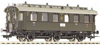 fleischmann 506411 Voiture à 3 essieux 3e/4e classe type CD 3 itr pr 07a, DRG