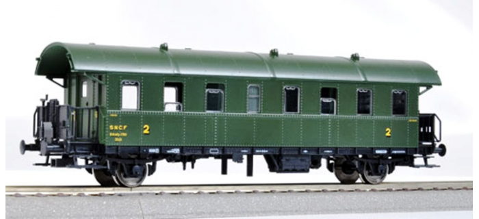 Modélisme ferroviaire :   FLEISCHMANN FL507607 - Voiture 2CL SNCF