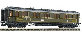 Modélisme ferroviaire :   FLEISCHMANN FL515602 - Voiture lits WL4u DB