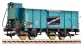 Modélisme ferroviaire : FLEISCHMANN FL535806 - Wagon couvert guerite G10 DB