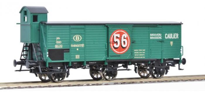 Modélisme ferrovaire - FLEISCHMANN FL 538005 - Wagon couvert 3 essieux SNCB