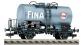 Modélisme ferroviaire - FLEISCHMANN F 541301 - Wagon citerne FINA SNCB