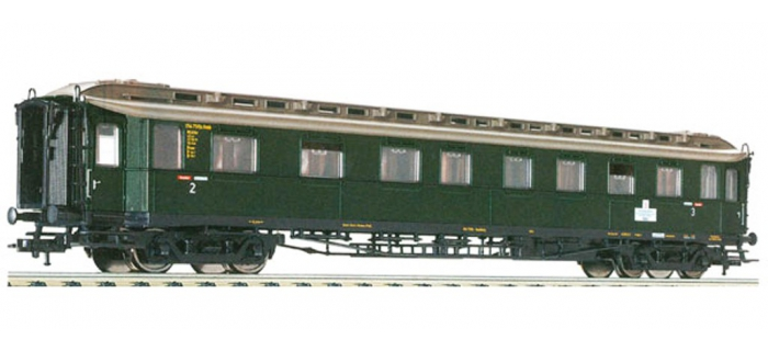 Modélisme ferroviaire :  FLEISCHMANN FL568202 - Voiture mixte 2/3cl SNCB