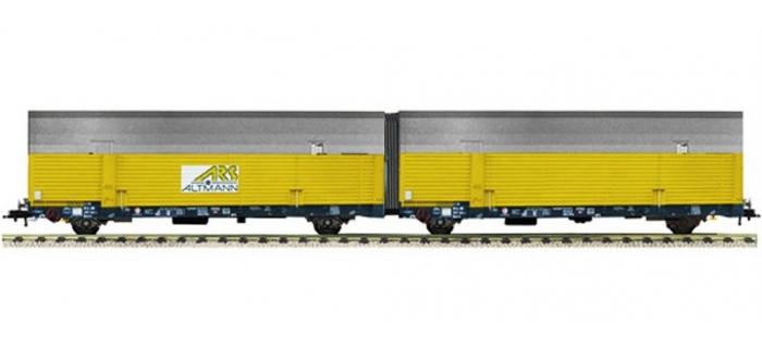 Modélisme ferroviaire :   FLEISCHMANN FL596101 - Wagon porte-auto ARS