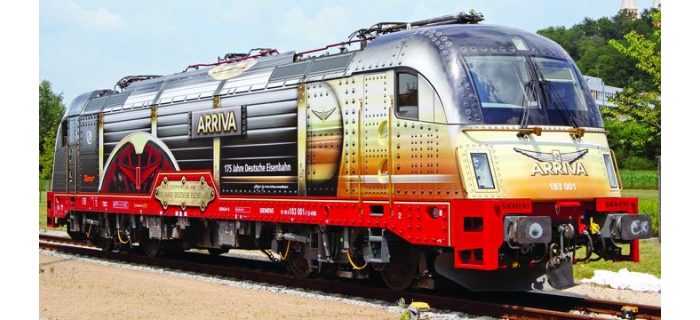 FL731202 LOCO ELEC.BR183 ARRIVA train electrique