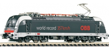 FLEISCHMANN FL731207 - Locomotive électrique Rh1216 record N OBB