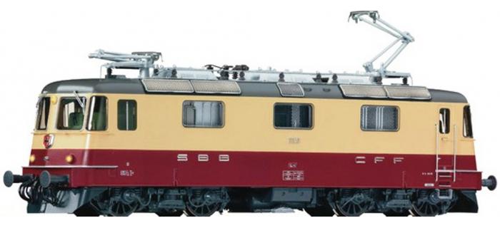 Modélisme ferroviaire :  FLEISCHMANN FL734001 - Locomotive électrique Re 4/4