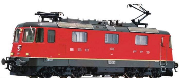 Modélisme ferroviaire : FLEISCHMANN FL734002 - Locomotive électrique RE4/4 Rouge SBB N