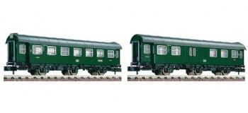 Modélisme ferroviaire : FLEISCHMANN FL809707 - Set 2 voitures 3 essieux DB N