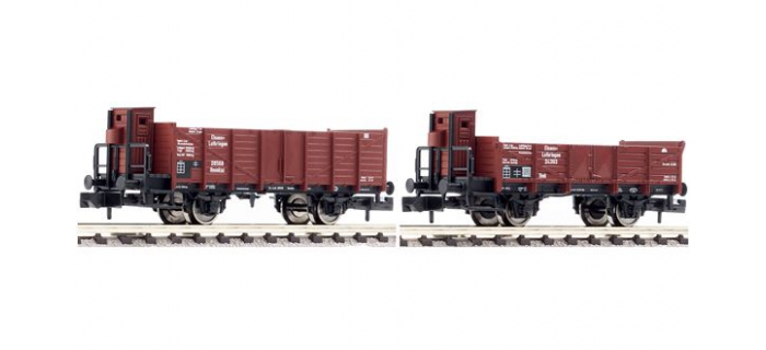 fleischmann 820901 Set de 2 wagons Alsace Lorraine