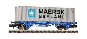 Modélisme ferroviaire : FLEISCHMANN FL824215 - Wagon porte containeur RENFE N