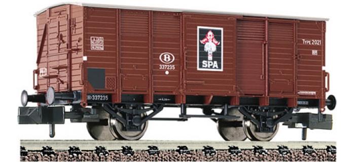 FL83531 WAGON COUV.SPA PIER.SNCB train electrique