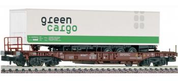 Train électrique : FLEISCHMANN FL845306 - Wagon poche Green Cargo