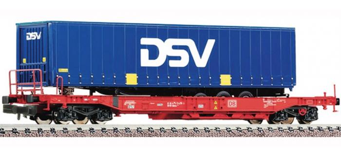Train électrique : FLEISCHMANN F845334 - Wagon poche DSV