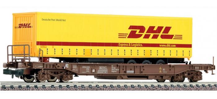 train électrique : FLEISCHMANN FL845335 - Wagon poche DHL