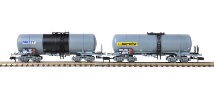 fleischmann 848008 Coffret de 2 wagons-citernes - Ep. V - Ech. N