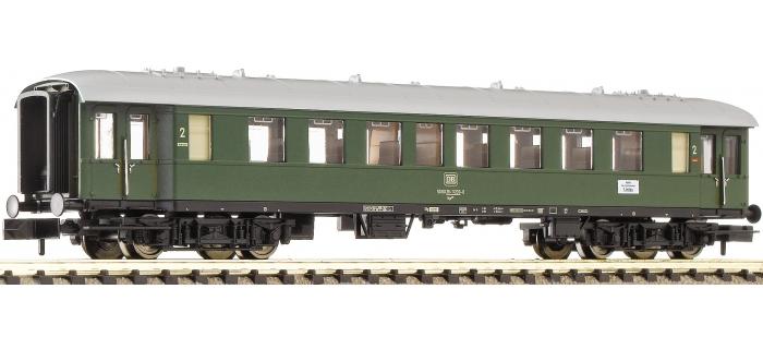 Train électrique : FLEISCHMANN FL867702 - Voiture 2cl DB