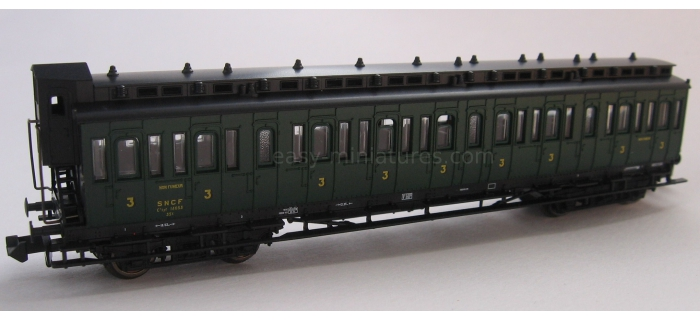 fleischmann FL938043F Voiture 3ième  classe, SNCF