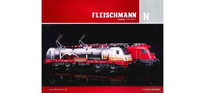 modelisme ferroviaire fleichmann 990251 Catalogue Fleischmann 2011-2012, N (français)