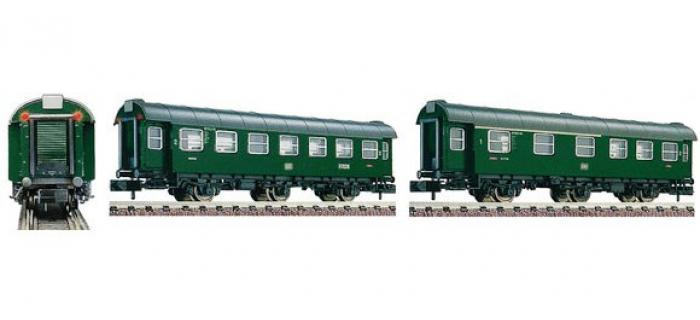 Modélisme ferroviaire : FLEISCHMANN FL809607 - Set 2 voitures 3 essieux DB N