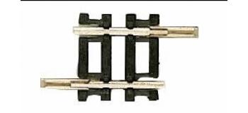 Roco 22207 Rail droit, 17.2mm
