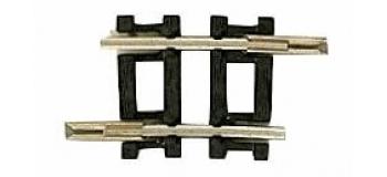 Roco 22232 Rail courbe R1, 129.6mm & 6°