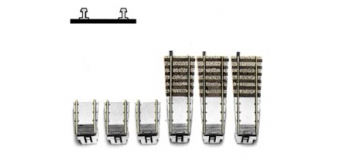 Train électrique : FLEISCHMANN FL 6153 - Set complementaire plaque 6152