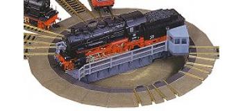 Modélisme ferroviaire : Plaque tournante programmable