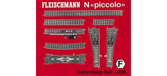 FLEISCHMANN 9196 SET RAIL F