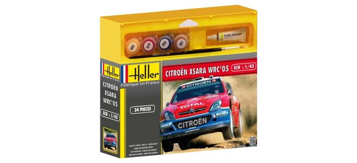 Maquettes : HELLER HELL50114 - Citroên XSARA WRC '05