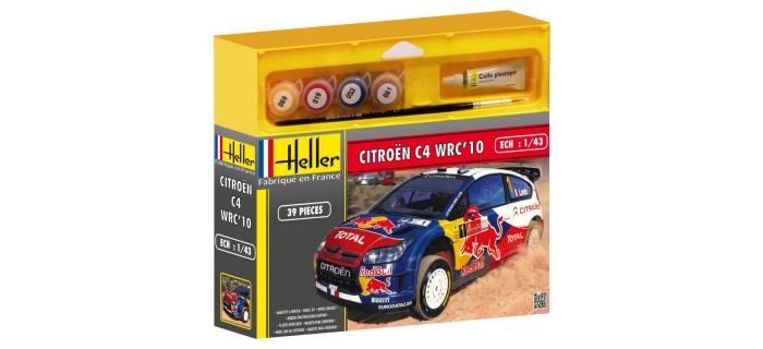 Maquettes : HELLER HELL50117 - Citroën C4 WRC'10