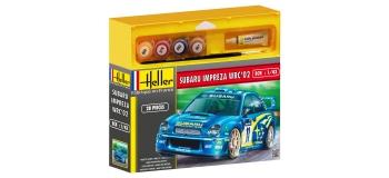 Maquettes : HELLER HELL50199 - Subaru IMPREZA WRC '02