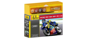 Maquettes : HELLER HELL50922 - Suzuki RGV 500 2001