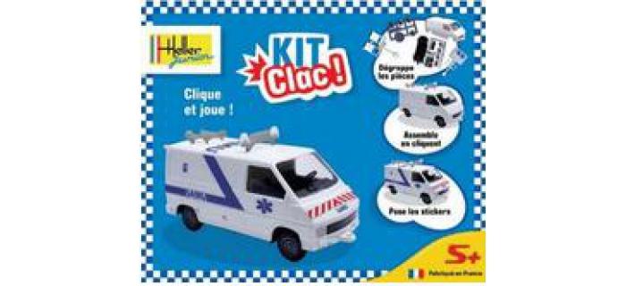 Maquettes : HELLER HELL52006 - Ambulance junior