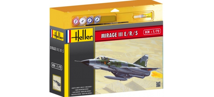 HELL50323 - Avion DASSAULT MIRAGE III E/R/5 - Heller
