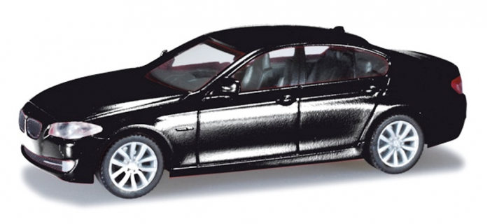 Modélisme ferroviaire : HERPA 024372-003 - BMW 5er Limousine, II noir