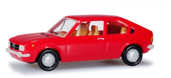 Modélisme ferroviaire : HERPA 024549-003 - Alfa Romeo Alfasud Ti, rouge clair