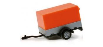 HERPA051576 - Remorque de voiture en toile ouverte
