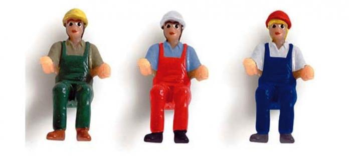 HERPA052498 - Lot de 6 Figurines pour engins de chantier