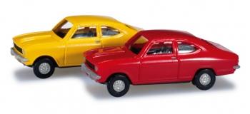 Modélisme ferroviaire : Herpa 065979 -Opel Kadett B Coupé