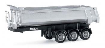HERPA HER076241 - Remorque-benne à 3 essieux Carnehl