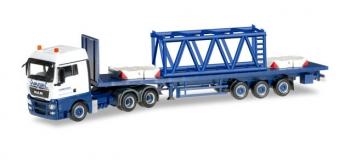 MODELISME FERROVIAIRE HERPA HER304696 - Camion semi remorque MAN TGX XLX