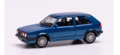 HER430838 - VW Golf II GTI bleue métallisée - Herpa