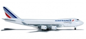 Train électrique : Herpa 523882 - Air France Cargo Boeing 747-400F - F-GIVD