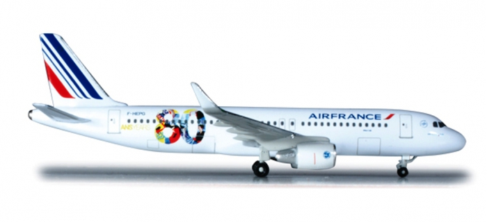 Train électrique : HERPA HER524674 Avion Air France Airbus A320