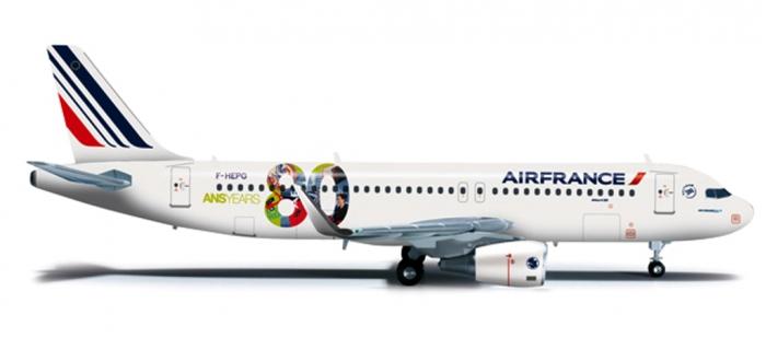Train électrique : HERPA HER556255 - Avion Air France Airbus A320