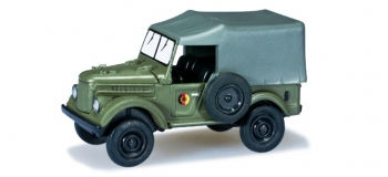 MODELISME FERROVIAIRE Herpa 700559 : Véhicule militaire GAZ 69, 2er-Set