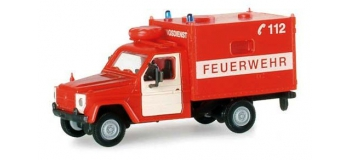 MODELISME FERROVIAIRE : HERPA HER742542 - Véhicule de pompiers Mercedes-Benz